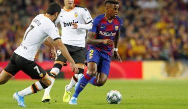Barcelona separó a Nelson Semedo por romper el protocolo de La Liga