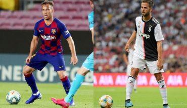 Barcelona y Juventus oficializaron el trueque entre Arthur y Pjanic