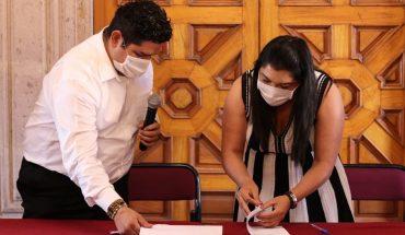 Brenda Fraga recibe de manera oficial la presidencia del Congreso del Estado de Michoacán