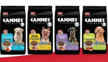 Cannes anunció retiro de sus productos tras denuncias de fallecimiento de perros