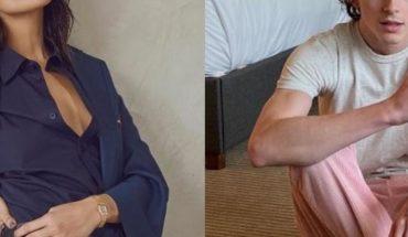Captan a Eiza González muy cariñosa con Timothée Chalamet en México