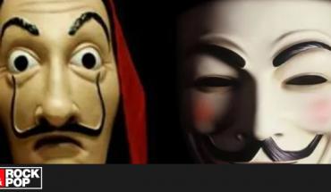 """Centennials creen que las máscaras de Anonymous se inspiran en """"La Casa de Papel"""""""