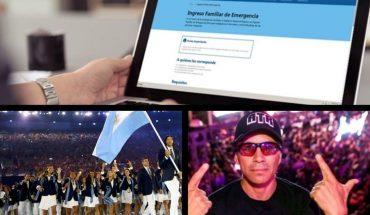 Comienzan a pagar la segunda ronda del IFE, los atletas olímpicos vuelven a entrenarse, el nuevo look de Pablo Lescano y mucho más...