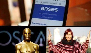 Cómo funciona el aplicativo de la Anses, recuerdo de Lohana Berkins, nueva fecha para los Oscars por la pandemia y más...