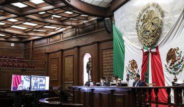 Congreso de Michoacán mantiene medidas sanitarias para la salud y seguridad de los trabajadores