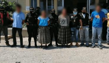 Detienen a 4 guatemaltecos vinculados a linchamiento de guía espiritual