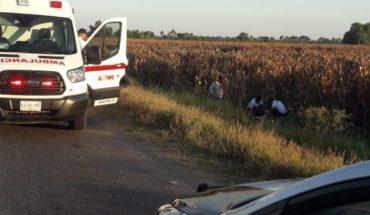 Dos motociclistas heridos en accidente en Ahome