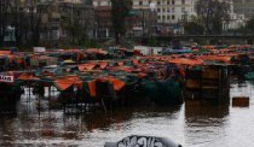 El balance de la Onemi después de la lluvia: anegamientos en la RM, cortes de ruta en O'Higgins y alerta roja en Valparaíso