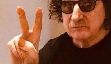 El músico argentino Charly García recibe el alta hospitalaria tras estar internado por un cuadro de fiebre alta