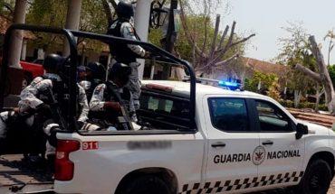 Emboscan a guardias nacionales y marinos en Chinicuila, Michoacán