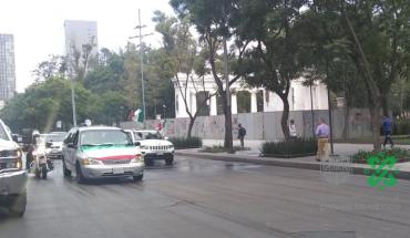 En caravana, protestan contra AMLO en el centro de CDMX