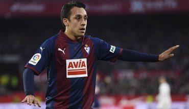Fabián Orellana no gravitó en derrota del Eibar ante el Real Madrid
