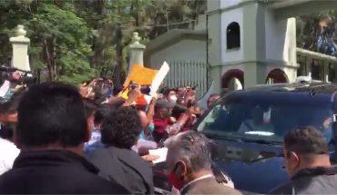 Familiares de desaparecidos a AMLO (Video)