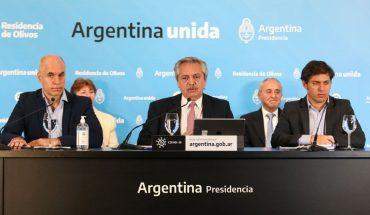 """Fernández: """"Vamos a sostener el aislamiento donde haya circulación comunitaria"""""""