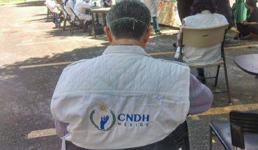 Funcionario de CNDH denuncia que dejaron de pagarle; Comisión lo niega