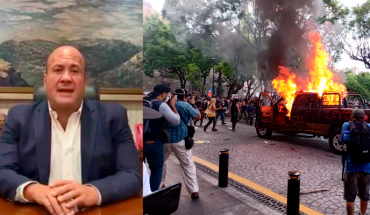 Gobernador de Jalisco culpa a Morena y AMLO de protestas violentas por muerte de Giovanni (Video)