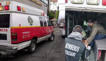Hombre de la tercera edad sobrevive a descarga eléctrica, en Zitácuaro