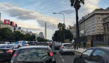 Importante movilización de opositores al gobierno contra la intervención de Vicentin