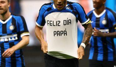 Inter de Milán se impone 2-1 a la Sampdoria en la Serie A