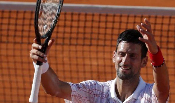 Las lágrimas de Djokovic tras organizar torneo de exhibición en Belgrado
