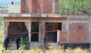 """Localizan un cuerpo dentro de un vivienda en """"obra negra"""" en Zamora, Michoacán"""