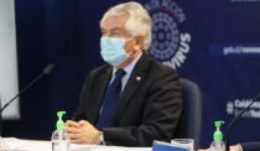"""Minsal reporta más de 4 mil nuevos contagios y 66 fallecidos por Covid-19: Ministro Paris destacó tendencia a una """"incipiente mejoría"""""""