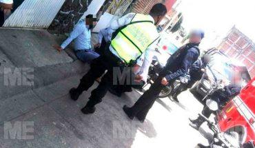 Motociclista es baleado en intento de asalto en Uruapan