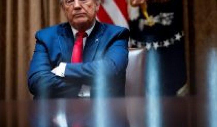 """Otro """"fail"""" en Twitter: Trump retuitea y luego borra el video de un seguidor que grita """"poder blanco"""""""