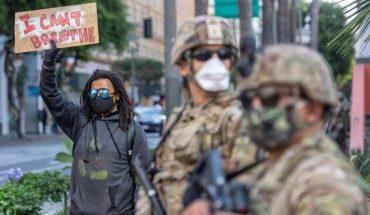 Para contener las protestas, la Guardia Nacional desplegó 43 mil militares
