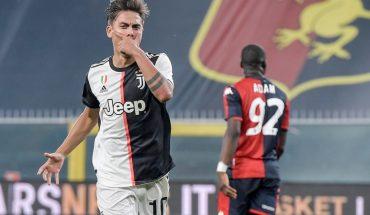 Paulo Dybala sigue de racha y abrió la cuenta en la victoria de Juventus