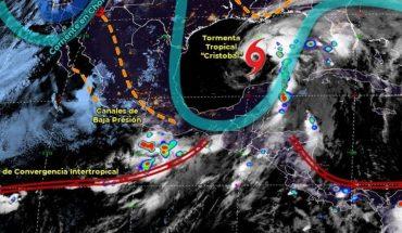 Pronóstico del clima de hoy: Tormenta Tropical Cristobal se aleja de México