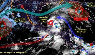 Pronóstico del clima de hoy: Tormenta Tropical Cristobal se crea en México
