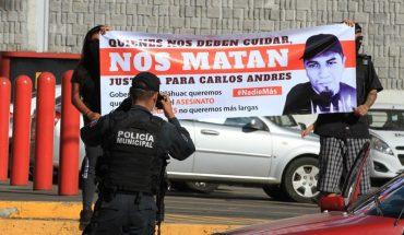 Reclaman en Xalapa que joven serigrafista murió por abuso policial