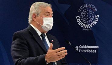 Respuesta de ministro Mañalich durante conferencia de prensa se transformó en tendencia en Twitter