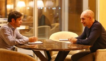 Rodríguez Larreta y Kicillof se reunieron para evaluar cómo sigue la cuaretena