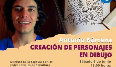 Secretaría de Cultura de Morelia invita a programa virtual de arte con José Antonio Bárcena