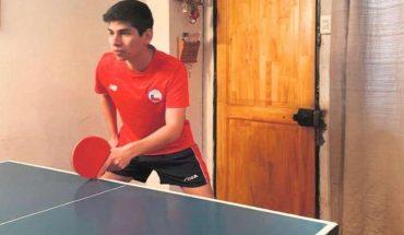 Seleccionado de tenis de mesa cuenta cómo es entrenar en el living de la casa de su polola