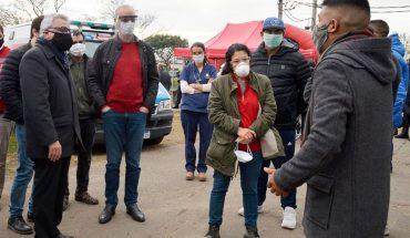 Siguen aumentando los casos en el barrio San Jorge: 110 personas con coronavirus