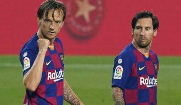 Sin el gol 700 de Messi, Barcelona ganó y sigue como líder de La Liga