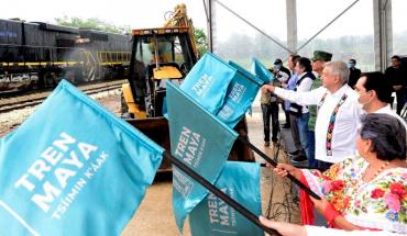 Tren Maya usará diésel por ser más económico que uno eléctrico