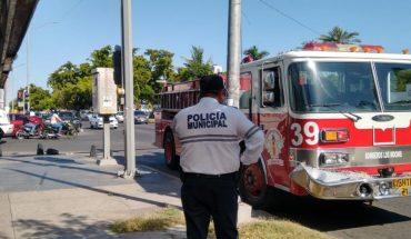 Tres lesionados deja carambola en bulevar de Escuinapa