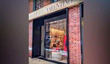 """Valentino retirará su tienda de la Quinta Avenida en Nueva York porque """"ya no es un destino de lujo"""""""