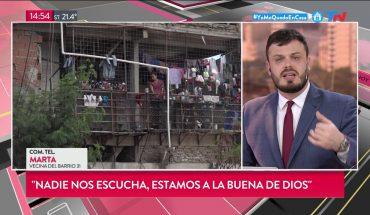 Coronavirus | Dramático: los vecinos del Barrio 31 piden declarar la emergencia sanitaria
