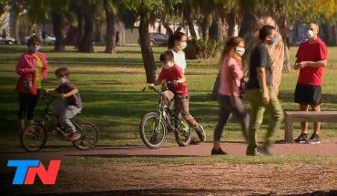 Coronavirus | Salidas recreativas en CABA: el primer fin de semana con chicos en plazas y calles