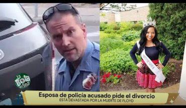 Esposa de policía acusado pide el divorcio | La Bola del 6