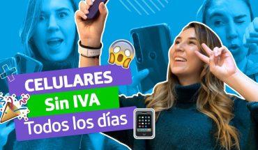 Estos son los celulares más baratos y sin IVA para comprar todos los días por @Marialerocha