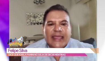 Felipe Silva asegura que Karla Panini sigue mintiendo   Vivalavi
