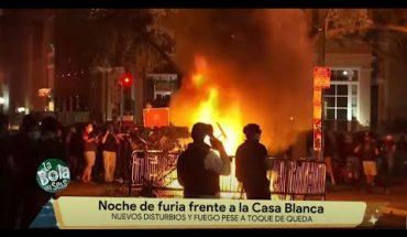 Siguen los disturbios frente a la Casa Blanca | La Bola del 6
