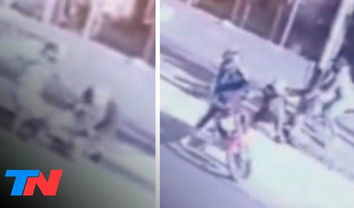 VIDEO ESTREMECEDOR | Violento asalto en Wilde: motochorros le pegaron a un ingeniero y le dispararon