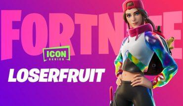 Ya se puede adquirir la skin de Loserfruit en Fortnite
